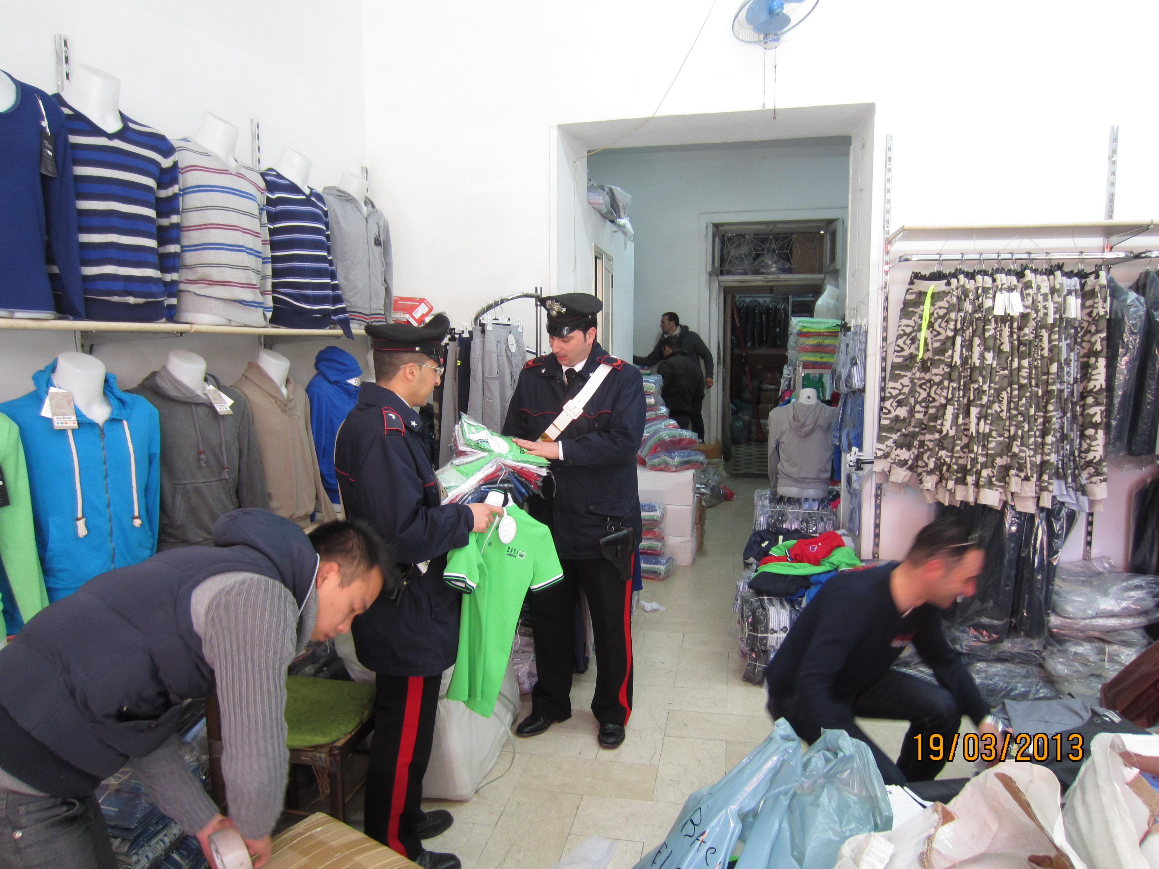 Cina mercato napoli via argine