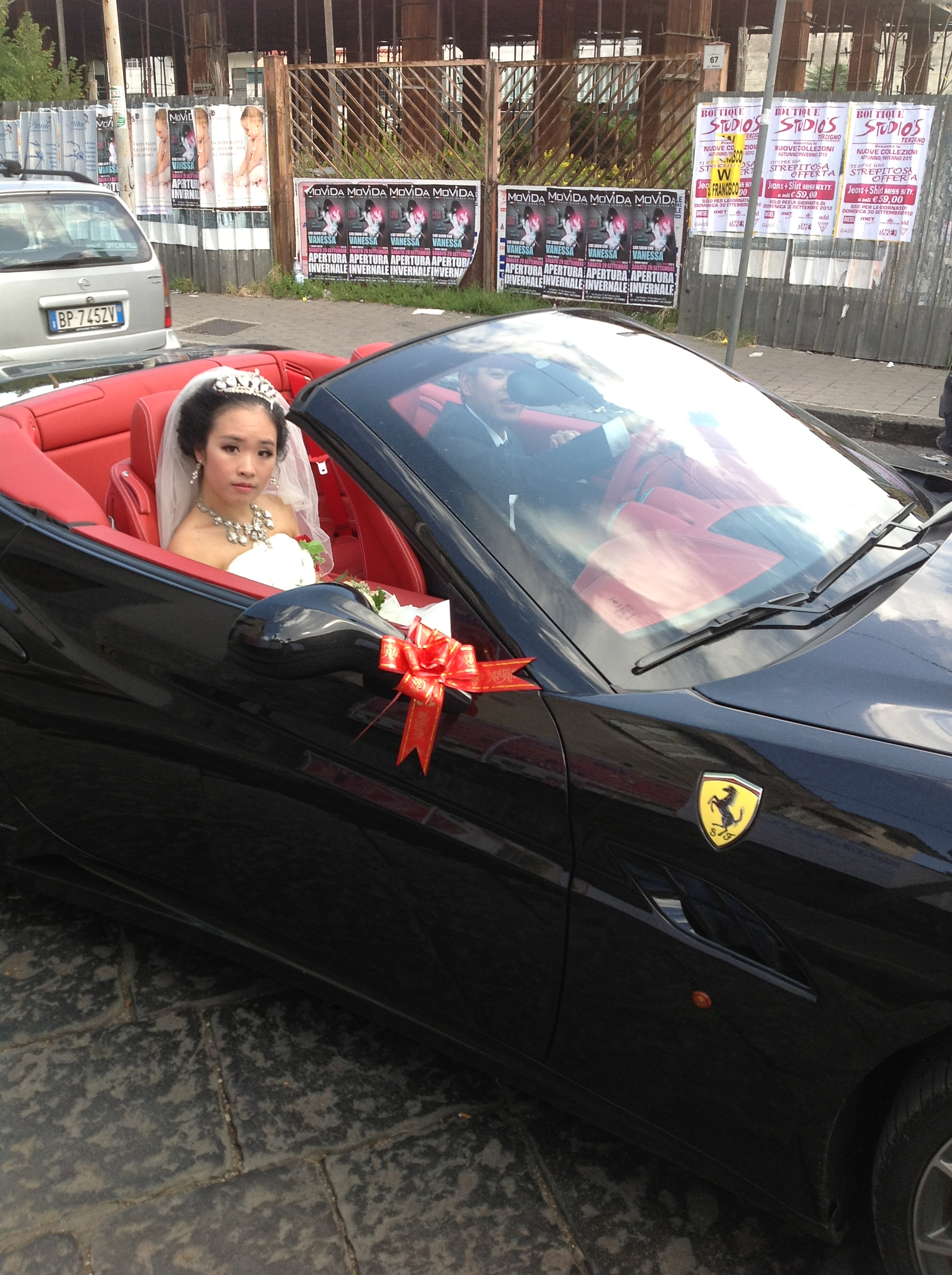Matrimonio In Ferrari : Cinesi a san giuseppe vesuviano di pino cerciello